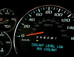 BMW E 46 3 Series Low Coolant Warning Light 1